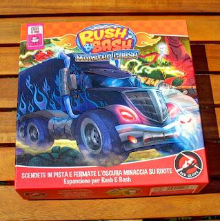 Monster Chase - la nuova espansione di Rush & Bash