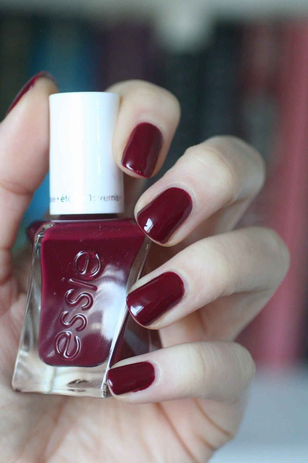 Essie Burgundy Comparison: Bahama Mama, Gala-Vanting, Model Clicks ...