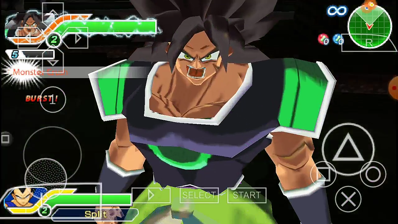 DBZ TTT MOD Broly Dragon Ball Super