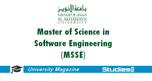 Master of Science in Software Engineering (MSSE)