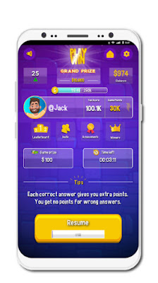 Cara Menghasilkan $10 Dollar Perjam Dengan Bermain Play and Win