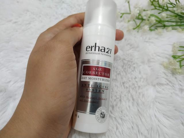 erha21 age corrector day moisturizer