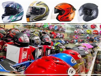 toko helm Jakarta Timur terlengkap