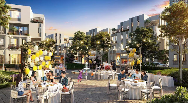 Tận hưởng không gian sống thượng lưu tại khu đô thị Thanh Hà