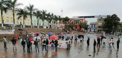 Fusagasugá: concejales impulsan protesta contra la inseguridad.
