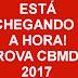 CRONOGRAMA DAS PROVAS OBJETIVAS DO CONCURSO DO CBMDF