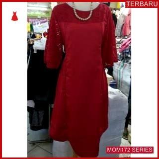 MOM172D11 Dress Hamil Menyusui Shelomita Brokat Dresshamil Ibu Hamil