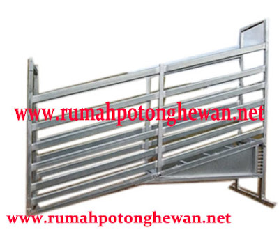 jual cattle loading ramp