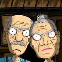 Grandpa And Granny Escape House Dumb Bots MOD APK