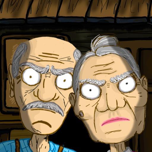 Grandpa And Granny Escape House - VER. 1.1.9 Dumb Bots MOD APK