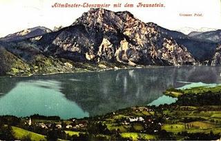 Altmünster-Ebenzweier mit dem Traunstein