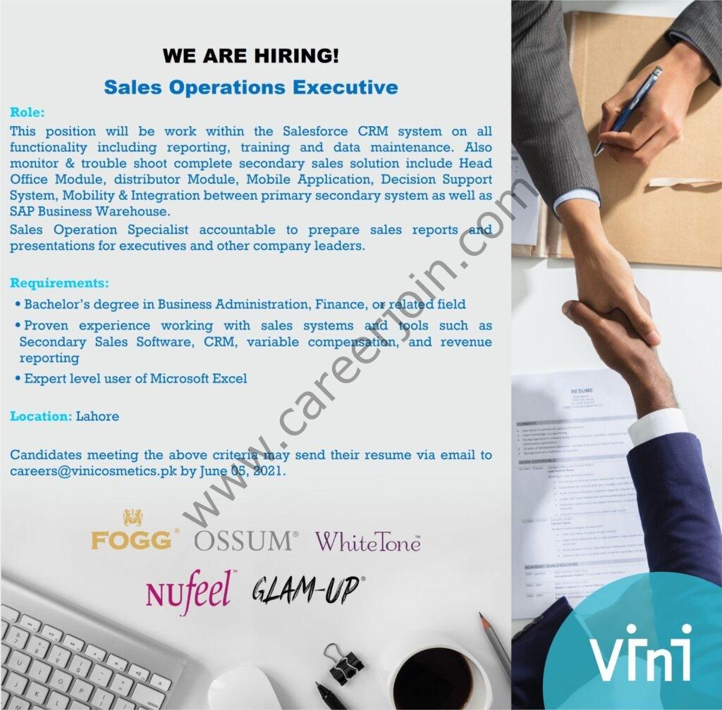 VINI International Jobs 2021 in Pakistan