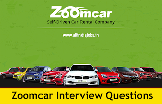Zoomcar Interview Questions