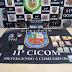 Polícia Militar detém dupla por tráfico de drogas na zona leste