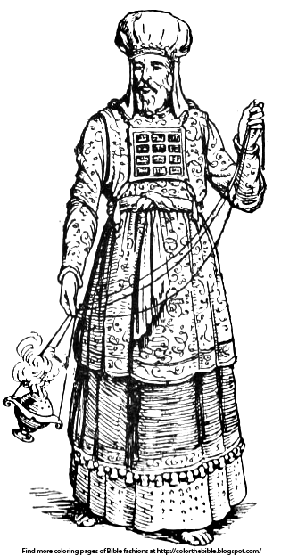 high priest coloring pages - photo#9