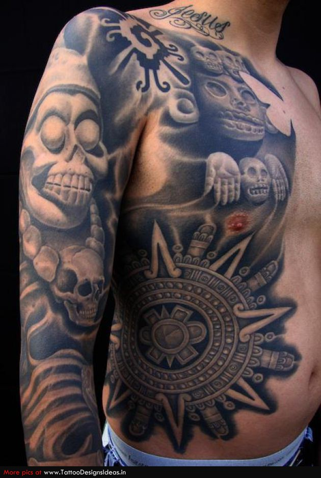 Tattooz Designs: Aztec Tribal Tattoos Designs| Pictures ...Aztec Tribal Patterns Tattoos