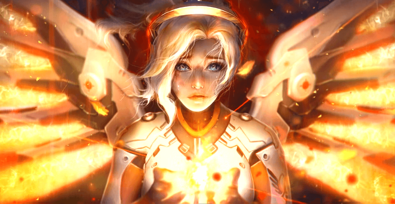 Overwatch - Mercy 1080P 60FPS [Wallpaper Engine Free]
