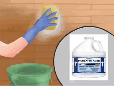 limpiar paredes acido muriatico