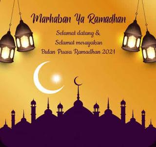 gambar ucapan marhaban ya ramadhan 2021