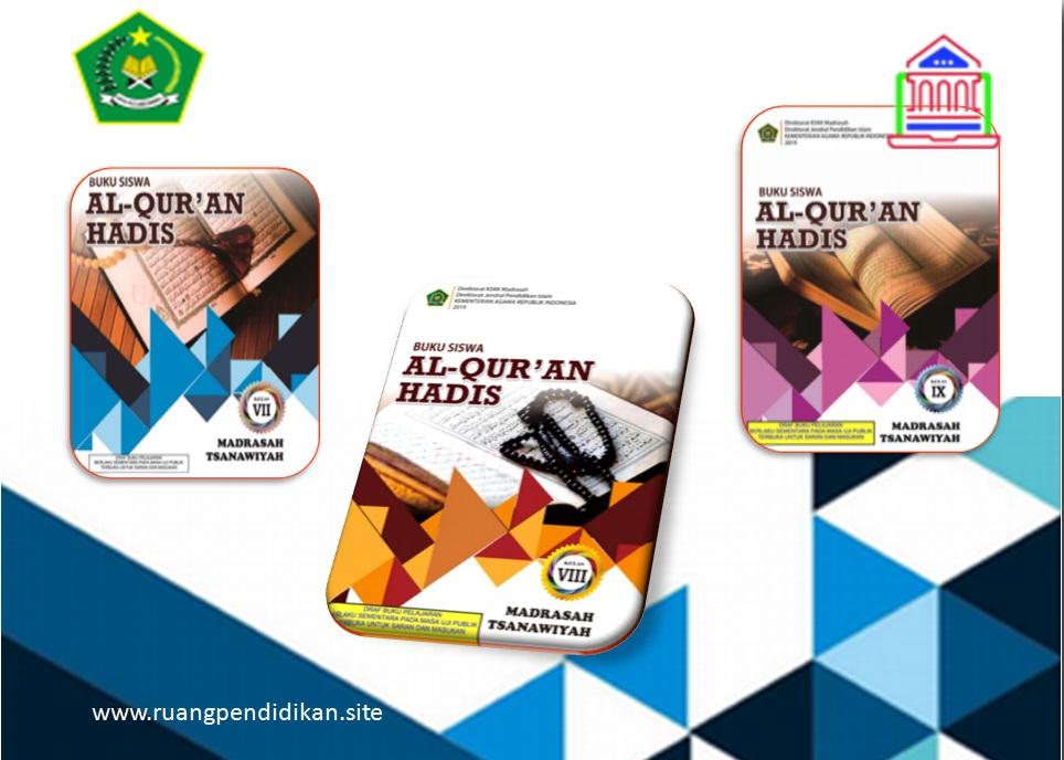 Buku Al Qur An Hadis Kelas 7 8 9 Smp Mts Kurikulum 2013 Revisi 2019 Ruang Pendidikan