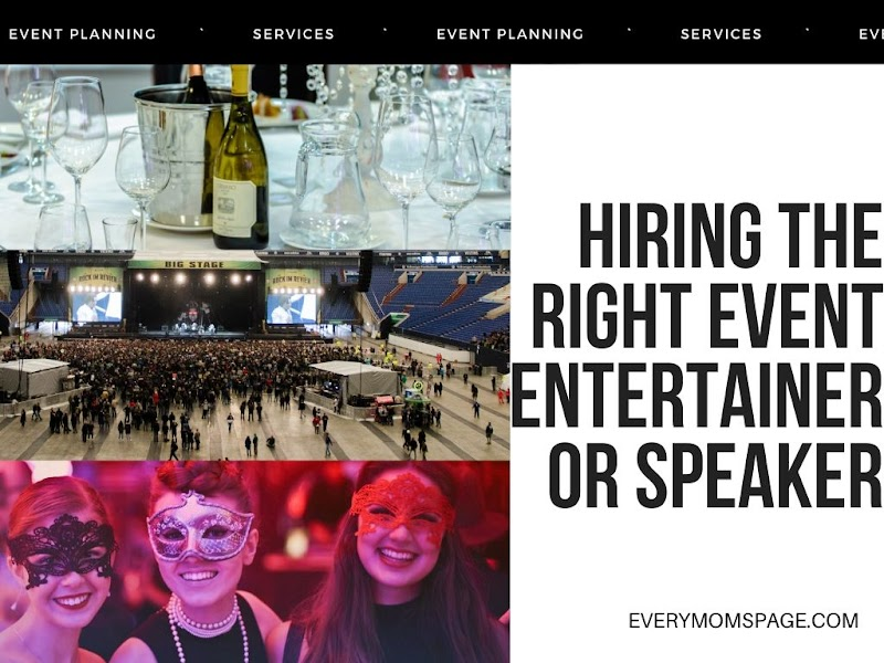 Hiring the Right Event Entertainer or Speaker