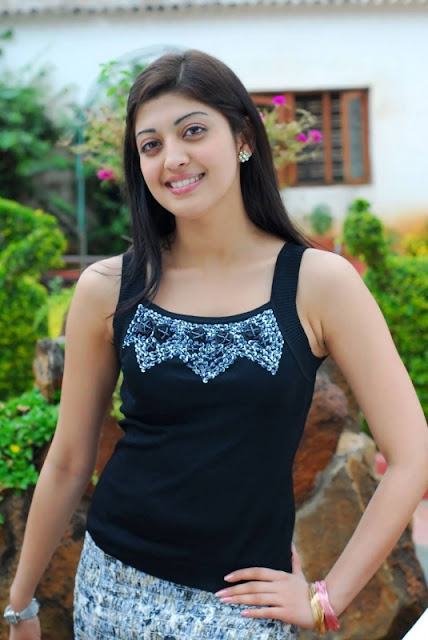 Actress Pranitha Stunning Pics In Black Dress Actress Trend