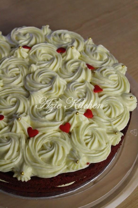 Kek Red Velvet Istimewa Dari Juita Azie Kitchen