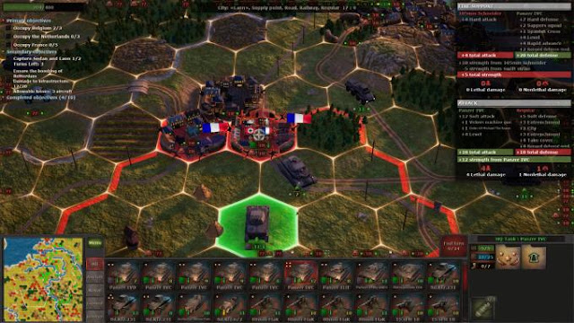 Strategic Mind Blitzkrieg Free Download PC Game Cracked in Direct Link and Torrent. Strategic Mind Blitzkrieg is a turn-based strategy set in the period of WW2. It brings a modern look and new features to a good old wargame genre. You are to lead the German…