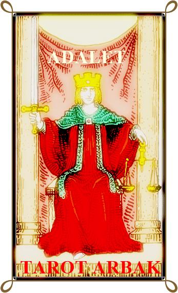 tarot adalet karti