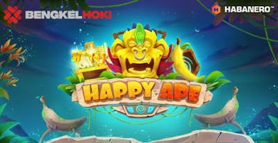 (Game Baru!!) Bengkelhoki - Happy Ape Slot game Habanero