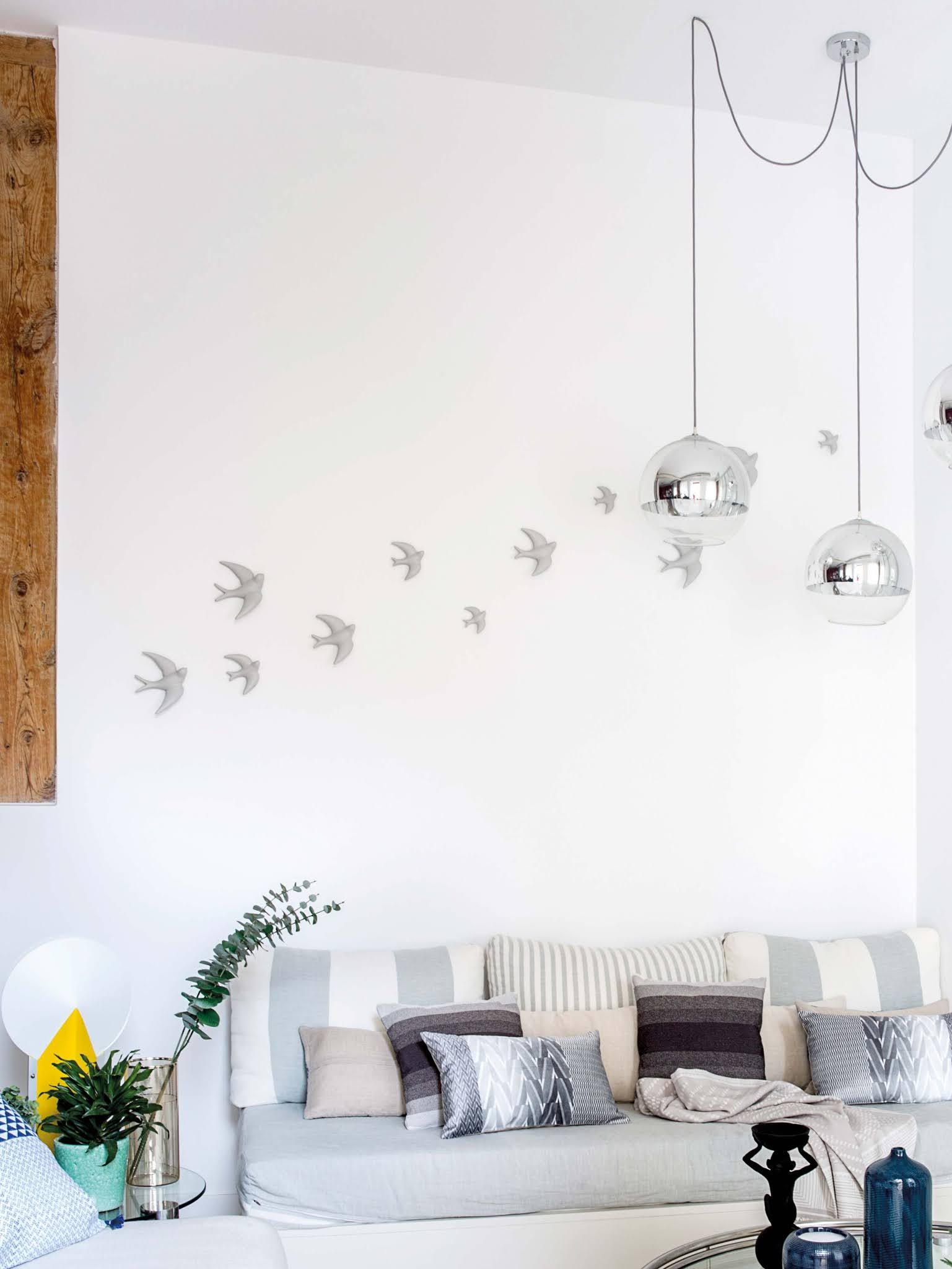 Cómo decorar con golondrinas de cerámica_5