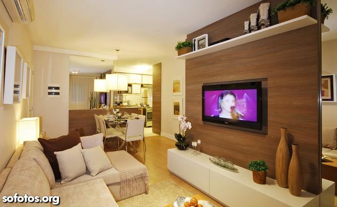 Sala De Estar Na Cor Branca ~  Casa Clean Apartamentos 5 Dicas de Ouro para Decorar Salas Pequenas