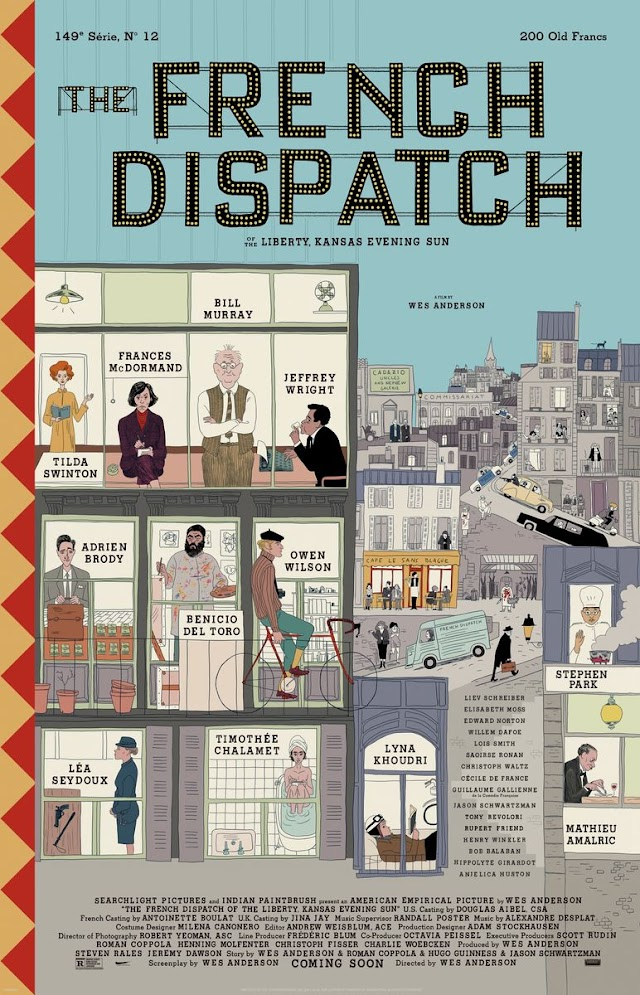 The French Dispatch (Trailer Film 2021)