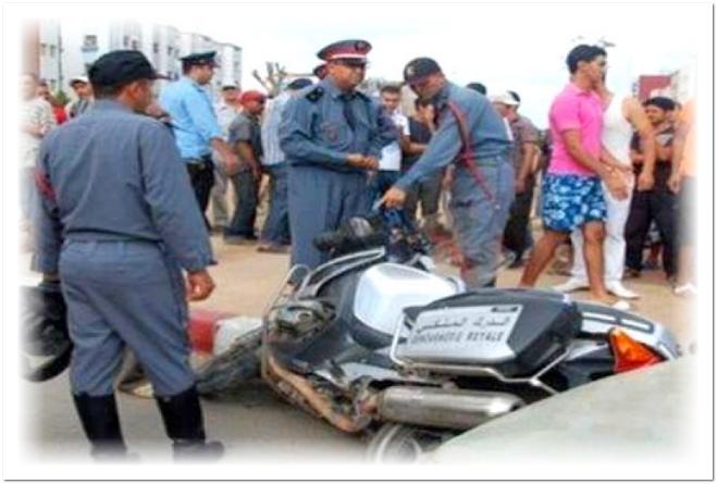 خطير…سائق سيارة خفيفة يقتل دركيا دهسا ويلوذ بالفرار !