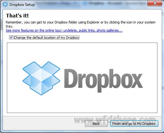 dropbox software terbarik membagikan file-file kecil dan tugas