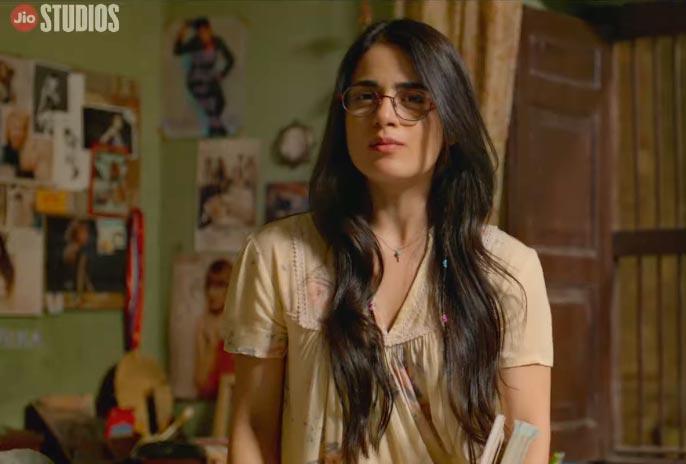 Radhika Madan in angrezi medium - bollywood actress wearing glasses