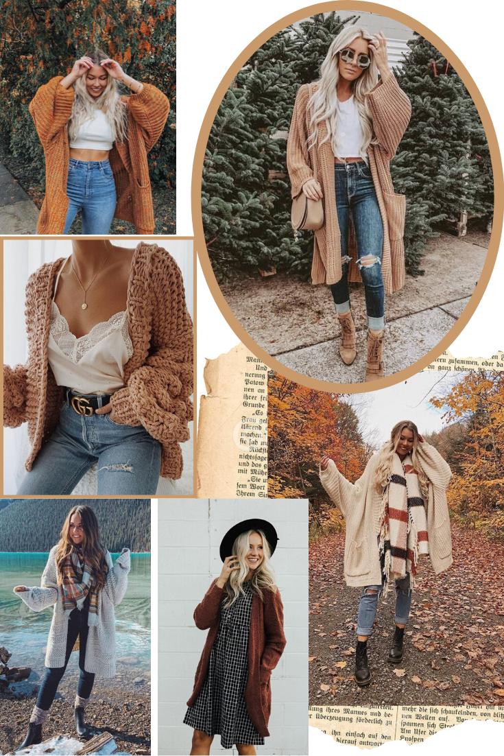 inspirações de outfits de outono