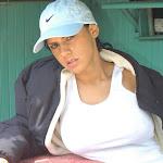 Andrea Rincon, Selena Spice Galeria 33: Gorra Azul, Cachetero Azul Foto 6