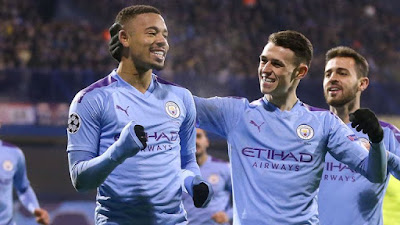 Video Cuplikan Gol: Dinamo Zagreb 1-4 Manchester City (UEFA Champions League)