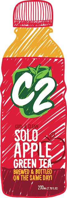 C2 is the first ready-to-drink tea beverage in the Philippine market.