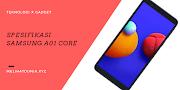 Spesifikasi Samsung A01 Core, HP Termurah Samsung?