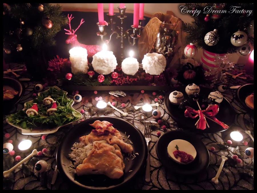 Nightmare Before Christmas Christbaumkugeln.Creepy Dream Factory Nightmare Before Christmas Motto Dinner