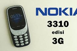 Nokia 3310 3G - Harga dan Spesifikasi Terbaru