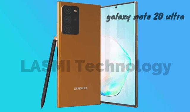 """موبايل سامسونج جالكسي نوت 20 الترا """" Samsung Galaxy Note 20 Ultra """" بالفيديو"""
