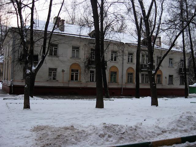 старый дом войковская