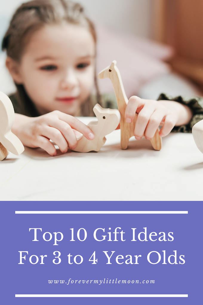 Top 10 Gift Ideas For 3 to 4 Year Olds