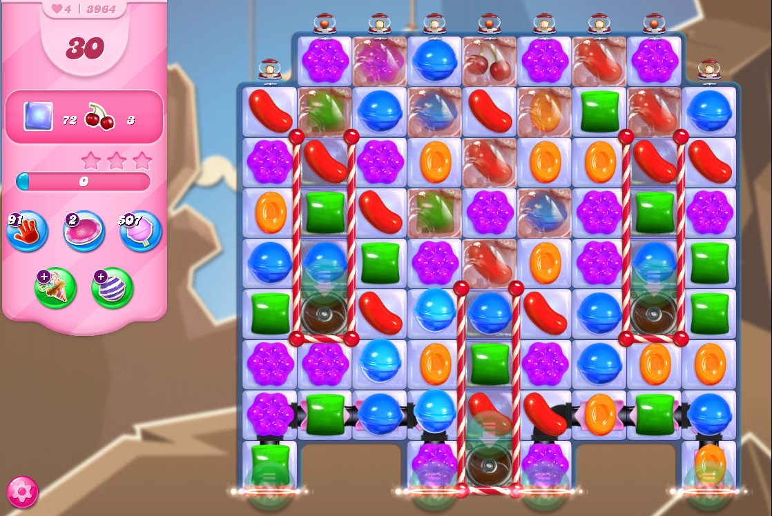 Candy Crush Saga level 3964