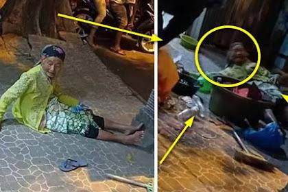 SEDIH !!Bukan Pengemis, Nenek ini Kehilangan Uang Rp 12 Juta untuk Berangkat Haji, Kisahnya Viral