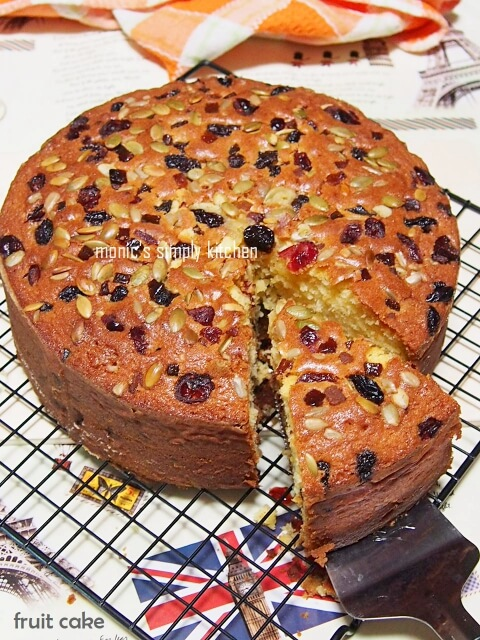 resep fruit cake simple