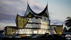 Gedung kantor Bupati Kabupaten Sejunjung